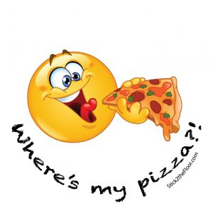 pizza fun decal